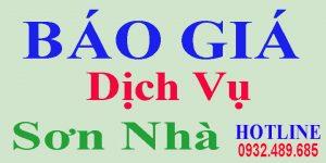 Báo giá dịch vụ sơn nhà giá rẻ TPHCM, Bình Dương, Đồng Nai