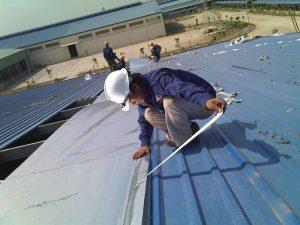 Báo giá chống dột mái tôn nhà xưởng