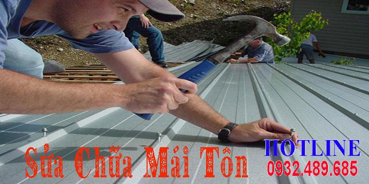 Chuyên nhận sửa chữa mái tôn giá rẻ