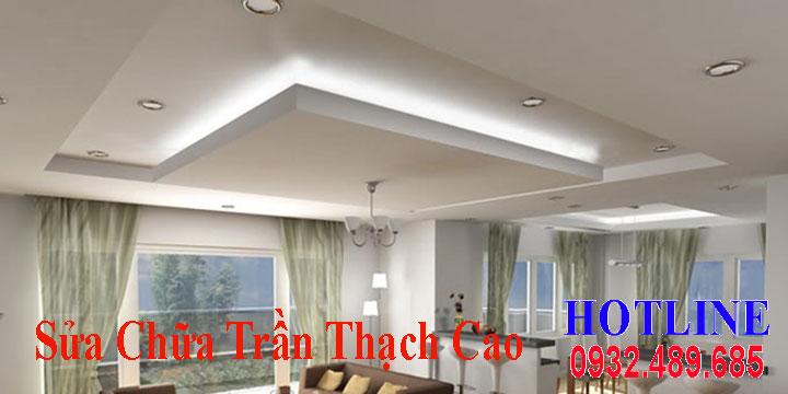 Chuyên nhận sửa chữa trần thạch cao giá rẻ