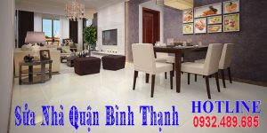 Báo giá cải tạo sửa nhà quận Bình Thạnh