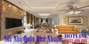 Báo giá cải tạo sửa nhà quận Phú Nhuận