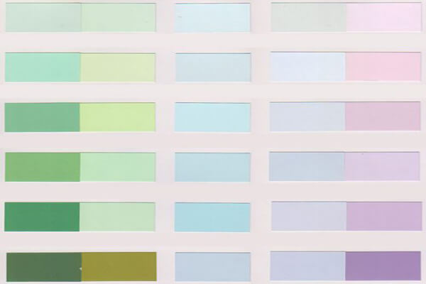 Bảng màu Kova nội thất