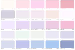 Bảng màu sơn của các thương hiệu sơn nổi tiếng nhất hiện nay