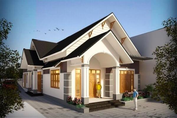 Nhà 1 tầng với thiết kế sang trọng