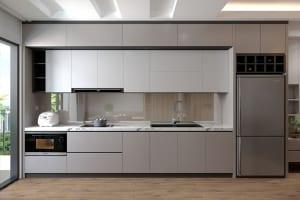 Mẫu tủ bếp đẹp, hiện đại đang được nhiều gia đình lựa chọn